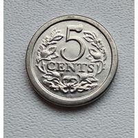 Нидерланды 5 центов, 1981 Нидерланды 4-10-14