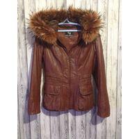 Куртка натуральная кожа натуральный мех