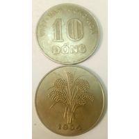 Вьетнам 10 донг 1964, Южный Вьетнам, куст риса