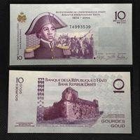 Банкноты мира. Гаити, 10 гурд