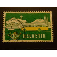 Швейцария. 1953г. Автобус.