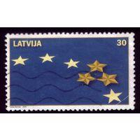 1 марка 2004 год Латвия 611
