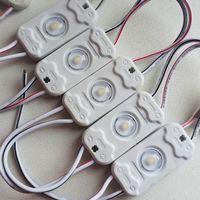 БЕЛЫЕ холодные ((цена за 3 шт)) светодиодный модули 0,54 Вт. 12 Вольт. Аналог светодиодной ленты