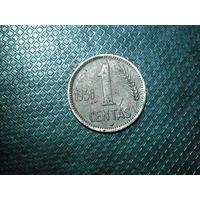 1 цент 1936 год литва