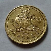 5 центов, Барбадос 1998 г.