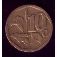 10 центов 2003 год ЮАР