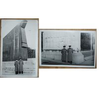 Два фото военных в Берлине. 1952 г. 9х13.5 см. Цена за 2 фото.