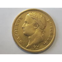 Франция (империя). Наполеон I. 40 франков 1812 A. Париж