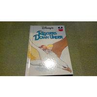 Детские книги на английском языке - Спасатели в Австралии - Walt Disney's - The rescuers down under - Wonderful world of reading