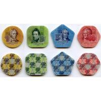 Приднестровье. 1, 3, 5, 10 рублей 2014 год UNC  (Полимер)