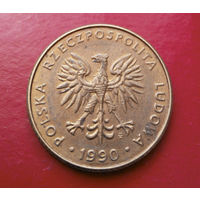 10 злотых 1990 Польша #02