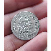 Шестак 1682, Пруссия , штемпельный блеск