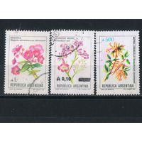 Аргентина 1985-9 Цветы Стандарт