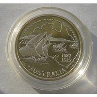Португалия 200 Эскудо 1995 Австралия Серебро (2)