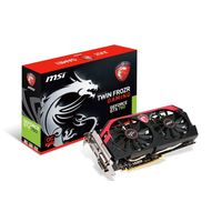 Видеокарта MSI GeForce GTX 760 Gaming 2GB GDDR5 (N760 TF 2GD5/OC, PCI-E x16 3.0, питание 6+8pin)