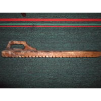 Старый утюг-рубель для белья для сельского колорита