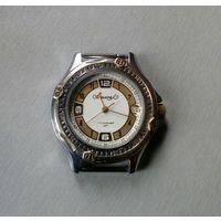 """Часы мужские наручные """"Вымпел"""",17 камней, (Сделано в Беларуси), с календарем."""
