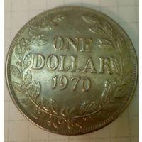 Либерия 1 доллар 1970