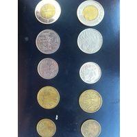 Набор монет эфиопия