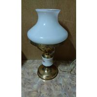 Комплектующая обруч обод основание под плафон для светильника настольной лампы бра СССР диаметр 17,5 см цвет золотистый, медный Цена за один