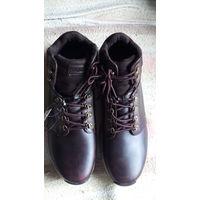 Ботинки коричневые, лёгкие, спортивные.  распродажа
