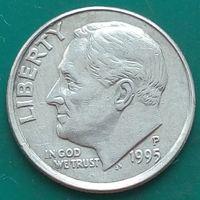 10 центов 1995 Р США