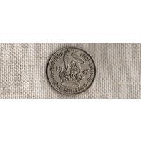 Великобритания 1 шиллинг 1947(Zo)