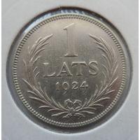 "Латвия 1 лат 1924 ""Герб"""