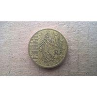 Франция 50 евроцентов, 2001г. (D-4)