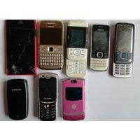 Мобильные телефоны на запчасти.