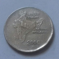 2 рупии, Индия 2000 г.