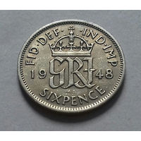 6 пенсов, Великобритания 1948 г.