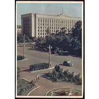 1959 год Минск Здание ЦК КПБ