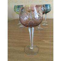 Фужер (бокал) для вина Лотос, светлая слива  . Германия.