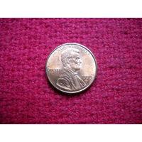 США 1 цент 1999 г. (D)