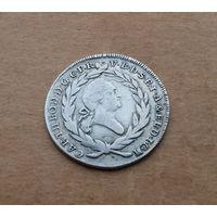 Бавария, 20 крейцеров 1784 г., серебро, Карл Теодор (1777-1799)
