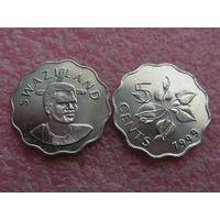 Свазиленд 5 центов 1999 UNC