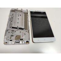 Дисплей от Xiaomi Redmi Note 4. Разбит тачскрин, но реагирует. Дисплей работает.