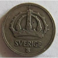 Швеция 10 эре 1946 серебро