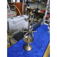 Подсвечник бронзовый разборный, 32 см.