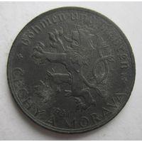 Богемия и Моравия (Чехия). 50 геллеров 1941 оккупация   .1-38