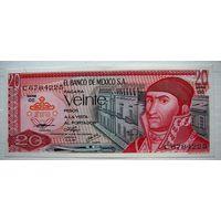 Мексика 20 песо  1976 г. UNC