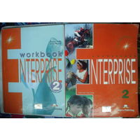 WORKBOOK Interprise 2 +Elementary coursebook Interprise 2 - (2шт.)