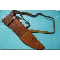 Кожаные ножны ручной работы длина 19 см