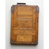Кассета для фотопластинок деревянная для форматной фотокамеры 13х18 см на запчасти вид 1