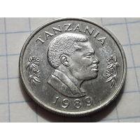 Танзания 50 центов 1989 кролик