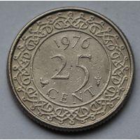 Суринам, 25 центов 1976 г.