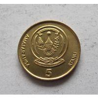 Руанда 5 франков 2003 - UNC!