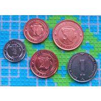Босния и Герцеговина 5, 10, 20, 50 феннингов, 1 марка.