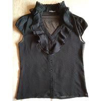 Чёрная блузка